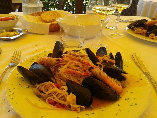 Osteria Del Mare: spaghetti allo scoglio