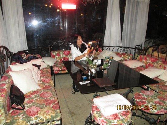 Spa Hotel Rich : беседки во дворе