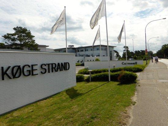 Comwell Koge Strand: Infart till hotellet