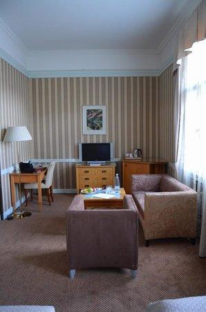Hotel Paris Prague : sitting area