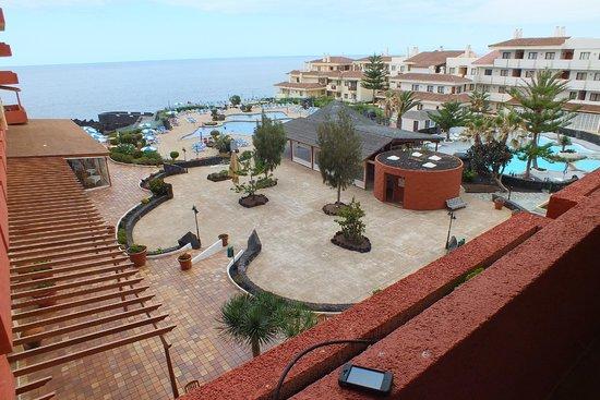 H10 Taburiente Playa: terras & zwembaden