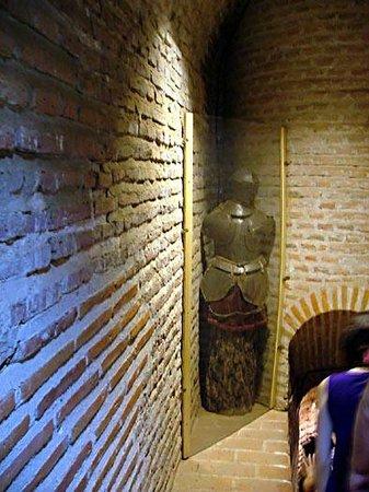 Castillo de Coca: armour of the time