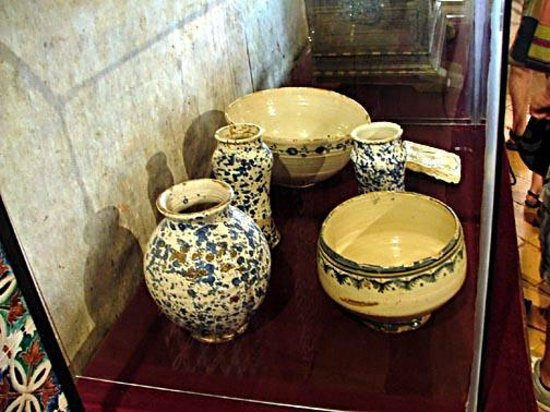 Castillo de Coca: artifacts