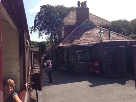 Lynton & Barnstaple Railway: Woody Bay Station