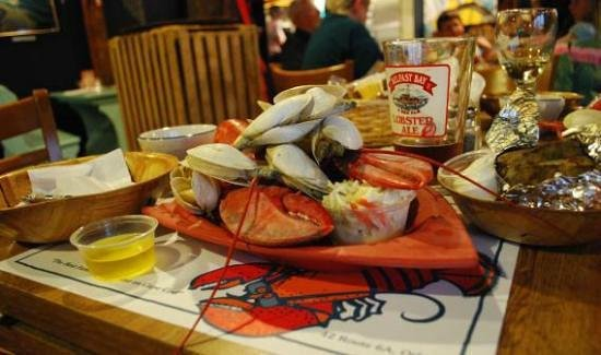 Lobster Claw: Clambake Dinner