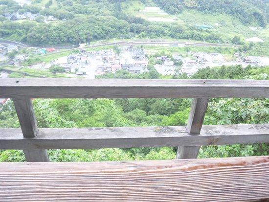 Risshaku-ji Temple: 五大堂からの眺め