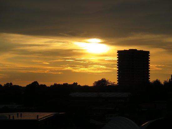 Britannia Hotel Coventry: nice sunset