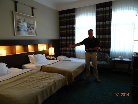 HOTEL PETER I STANDARD ROOM NUMBER 389 AS SEEN IN JULY 2014.