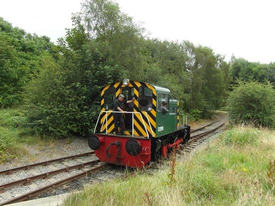 Middleton Railway: 'turning round'