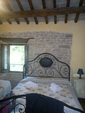 Castello Della Pieve: Una camera esempio di perfetto recupero architettonico