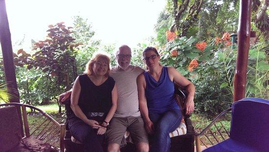 Diquis Del Sur : Avec Renée et Pierre, des hôtes attachants