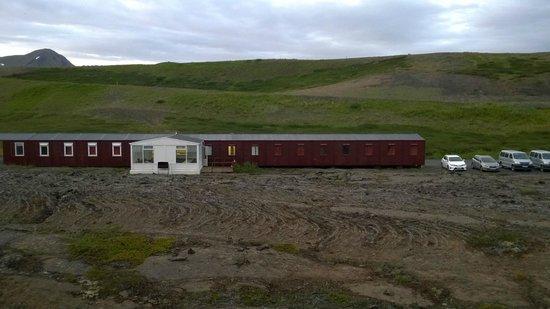 Hlid Camping : Vista della Struttura