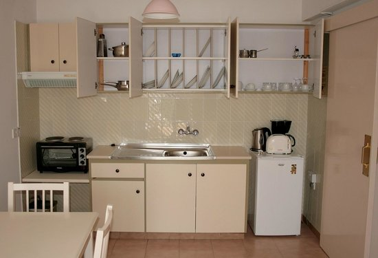 Seagull Apartments: Кухня с полным набором посуды!
