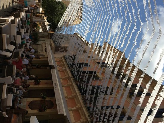 Alcudia Old Town : old town restaurant