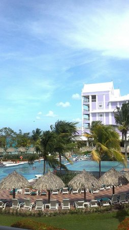 ClubHotel Riu Ocho Rios : View from our room