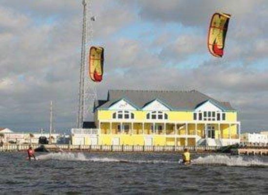 Kitty Hawk Kites: Besides kiteboarding, rent kayaks, paddle boards, etc.
