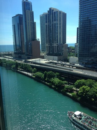 Sheraton Grand Chicago : View from the room