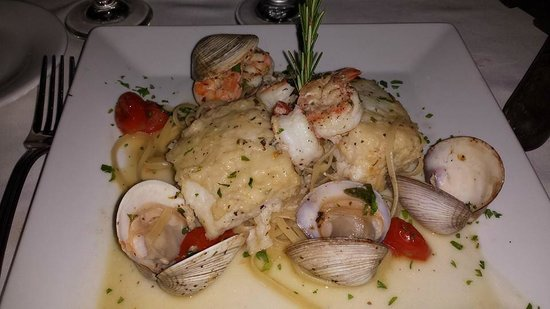 Limoncello : Wonderful trio of seafood