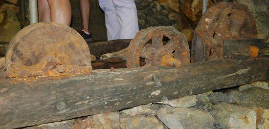 Glengowla Mines : Inside the mine