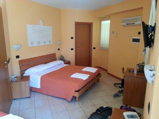 Hotel San Giuseppe: Vårt rum