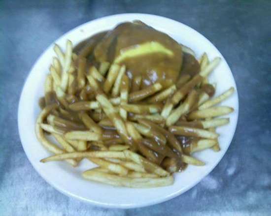 Ghent Sandwich Shop: What is a hot hamburger plate? yummmmmm