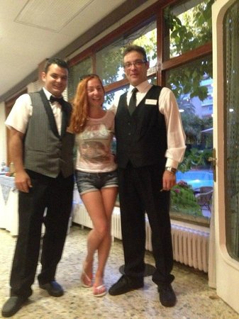 Hotel Acapulco Lloret de Mar : Friendly staff