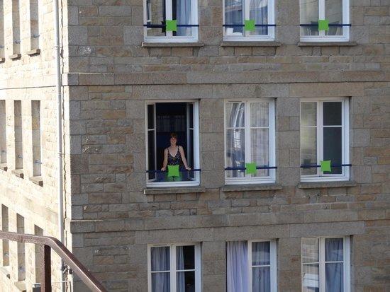 ibis Styles Saint-Malo Centre Historique : Notre chambre en facade.