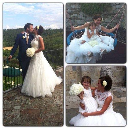 Dievole: Some wedding shots