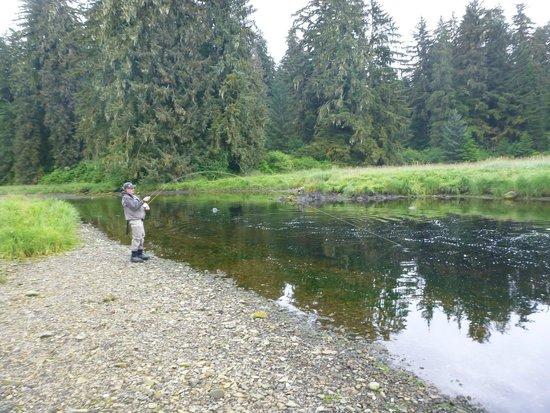 Port Alexander, AK: Freshwater Salmon Fishin