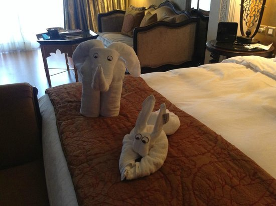 Jumeirah Zabeel Saray: Room mates! lovely touch