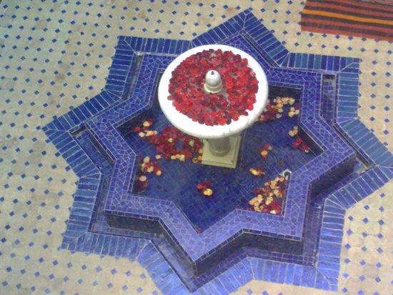 Riad le Clos des Arts: La fontana