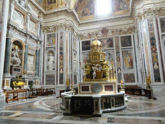 Basilica di Santa Maria Maggiore: Acesso da cripta