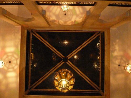 Riad le Clos des Arts: Soffitto