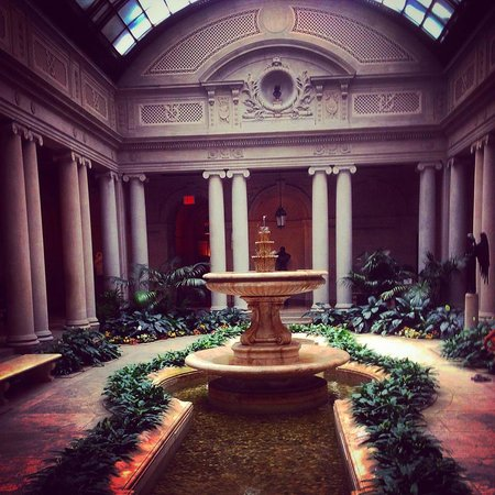 Frick Collection: courtyard