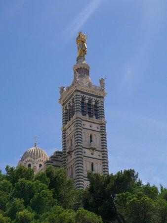 Cathedrale de la Major: Базилика Нотр-Дам - де-ла Гард в Марселе