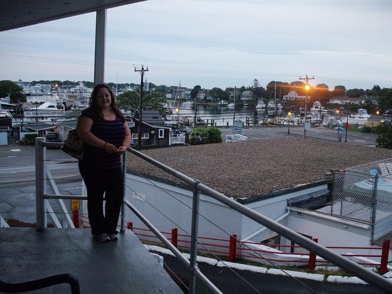 Hyannis Holiday Motel: view from #25