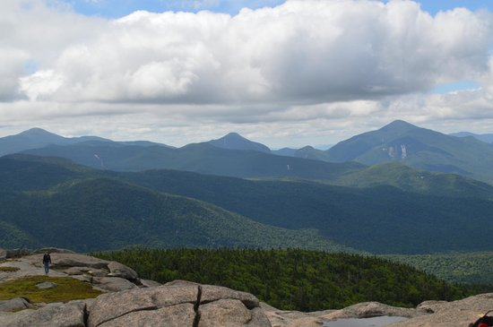 Best Western Saranac Lake : View from Cascade Mountain