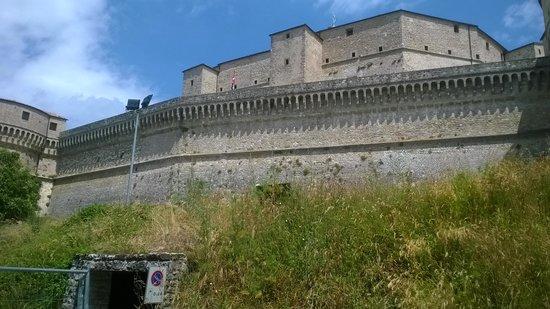 Forte di San Leo: panorama