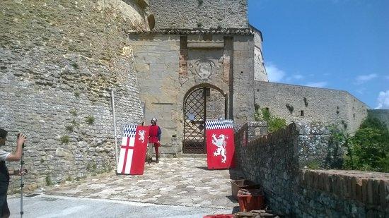 Forte di San Leo: ingresso alla rocca
