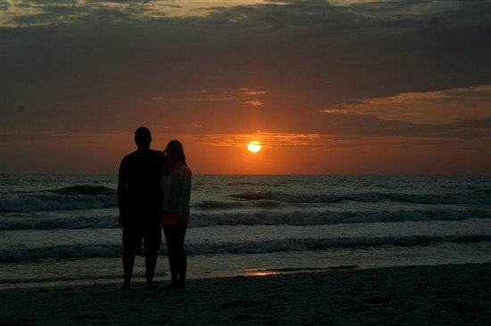 Cape San Blas: everynight scenery on the beach