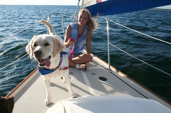 Cape San Blas: Sailing in the bay with Just Sayin Charters