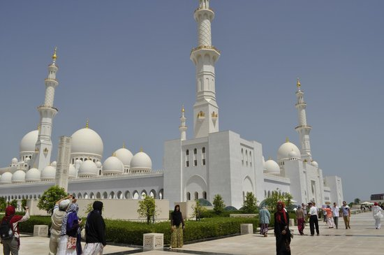 Mosquée Cheikh Zayed : Grande Mesquita Sheikh Zayed
