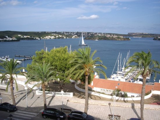 Hotel Port Mahon: view from hotel