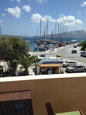Portiani Hotel: View from front of deck