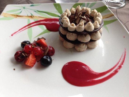 Le Viaduc : Le dessert menu du terroir