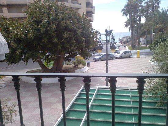 Hotel Casablanca: Vue de notre chambre