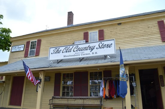 Moultonborough, Νιού Χάμσαϊρ: The front of The Old Country Store