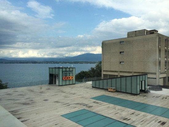 Lake Geneva Hotel: View from Room