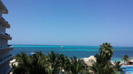 Hotel Riu Caribe: View from the 4th floor