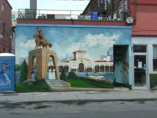 Kensington Market and Spadina Avenue: Asian city scape